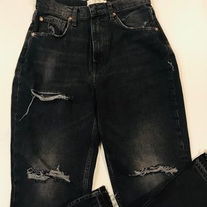 Free People Lita Crop Straight Leg Jeans Size 27